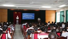 Khai giảng Lớp Bồi dưỡng lý luận chính trị dành cho Đảng viên mới và Lớp Bồi dưỡng kết nạp Đảng cho các quần chúng ưu tú năm 2015