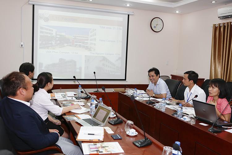Làm việc với Công ty cổ phần hợp tác quốc tế JIC - Học viện JINNO Nhật Bản